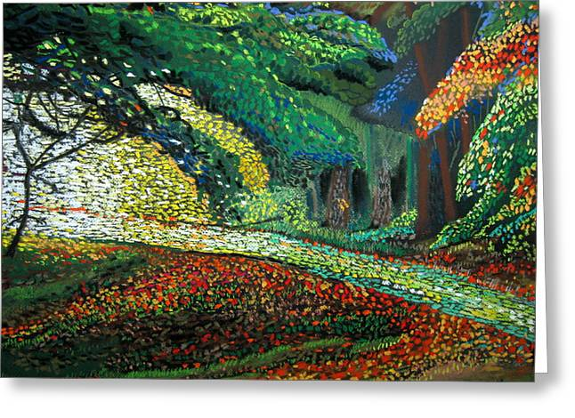 Mosaic Nature Walk Greeting Card