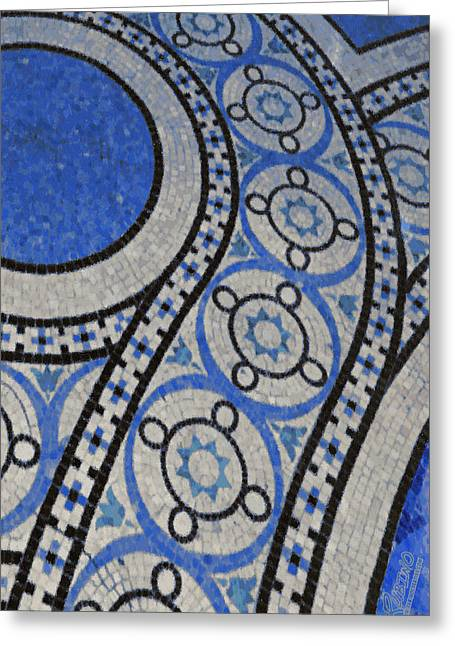 Mosaic Perspective 2 Greeting Card