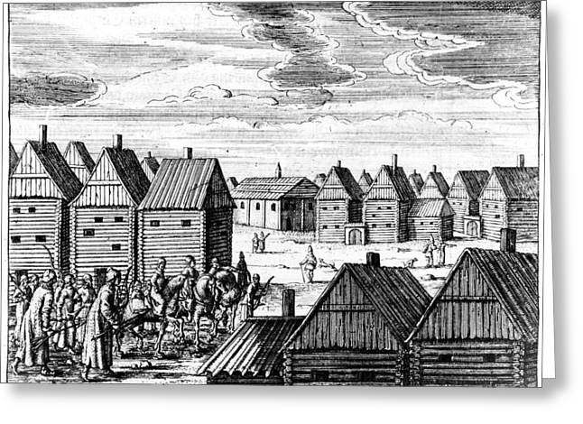 Moscow, 17th Century Greeting Card by Granger