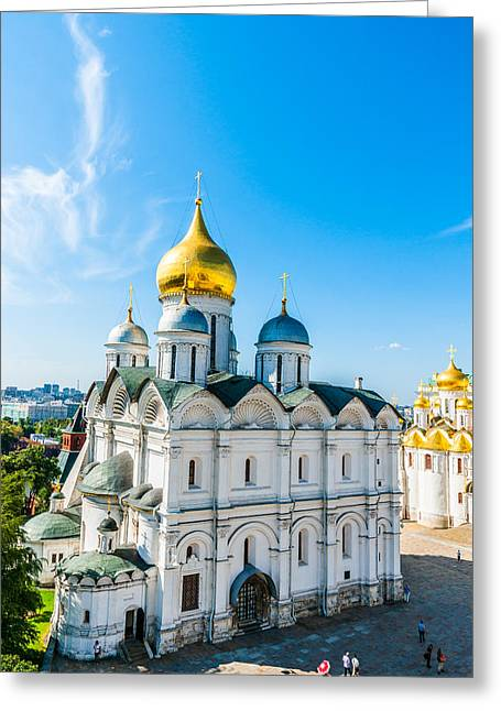 Moscow Kremlin Tour - 30 Of 70 Greeting Card by Alexander Senin