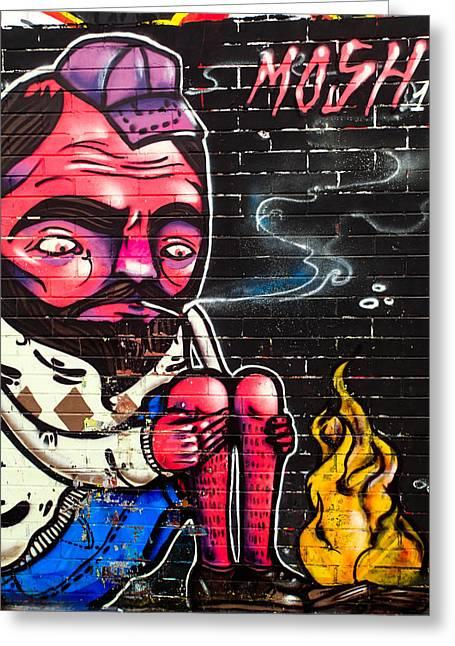 Mosh Wall Art Greeting Card