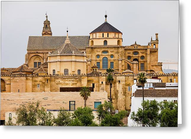 Mosque Cathedral Of Cordoba In Spain Greeting Card by Artur Bogacki
