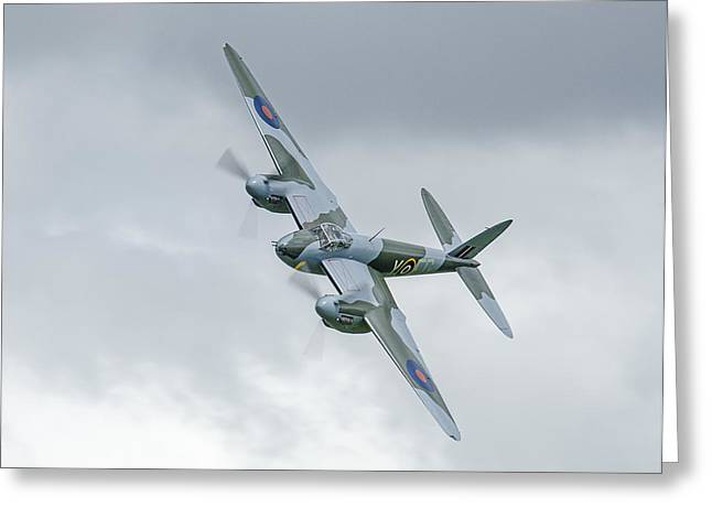 Mosquito At Ardmore Greeting Card by Barry Culling