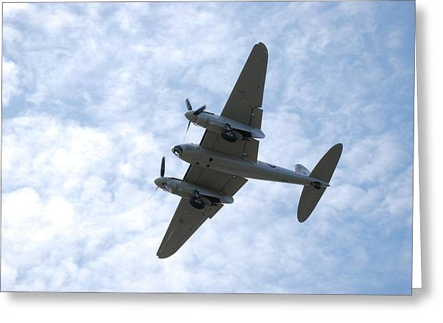 Mosquito On Final Approach Greeting Card