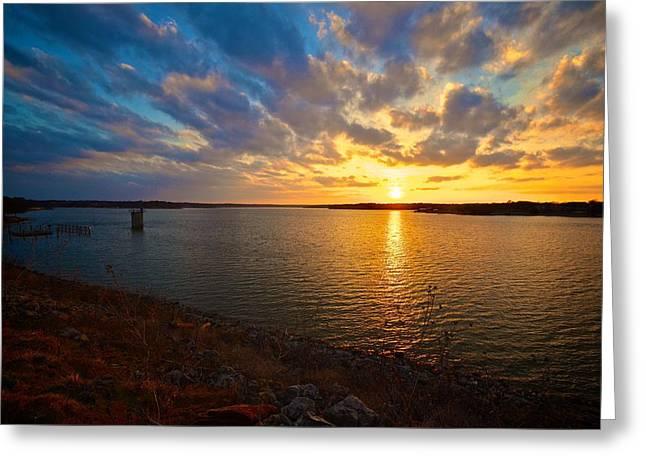 Moss Lake 6425 Greeting Card