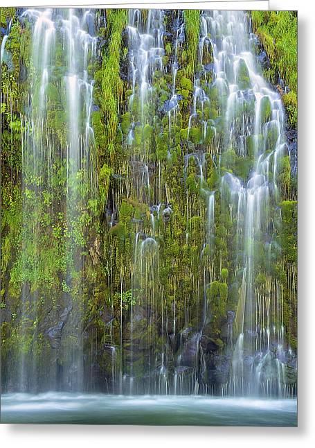 Mossbrae Falls Greeting Card