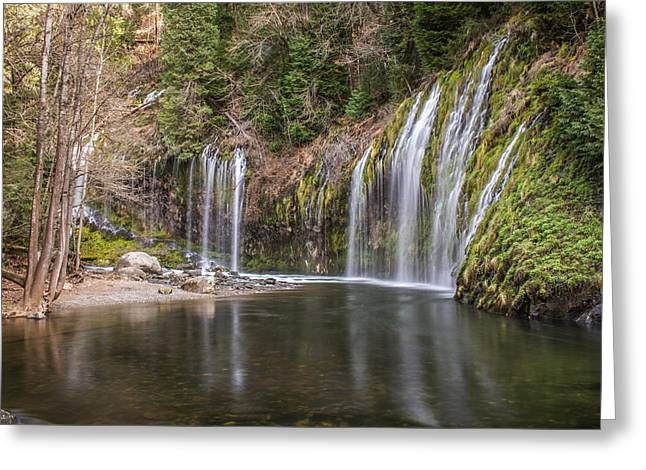 Mossbrae Falls Greeting Card