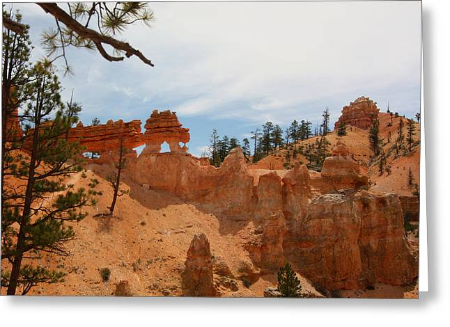 Mossey Creek Trail Arches Greeting Card