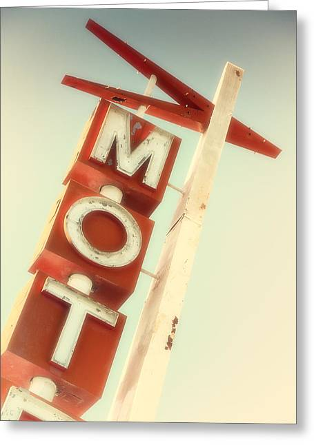 Motel El Rey Greeting Card