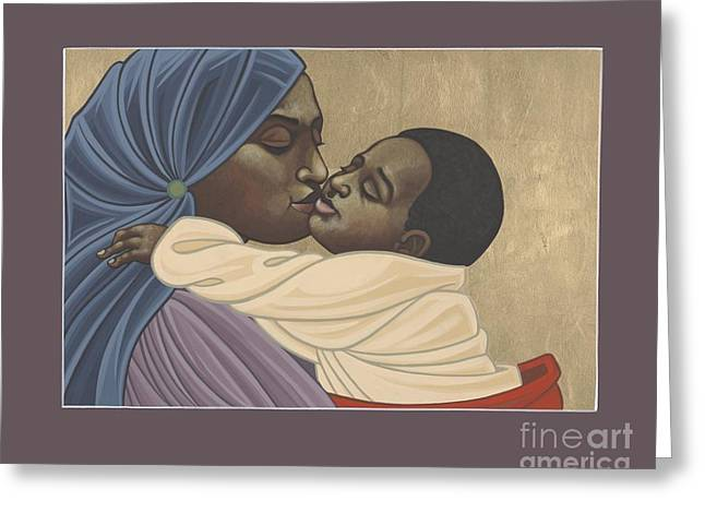 Mother And Child Of Kibeho 211 Greeting Card