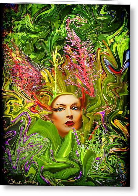Mother Nature Greeting Card by Chuck Staley