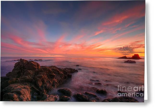 Mother Nature's Canvas Greeting Card by Eddie Yerkish