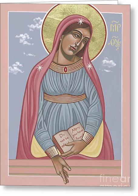 Mother Of Holy Hope 263 Greeting Card