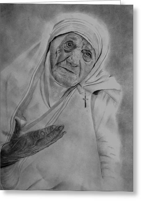 Mother Theresa 2 Greeting Card