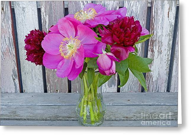 Mother's Day Bouquet Greeting Card by Nick  Boren