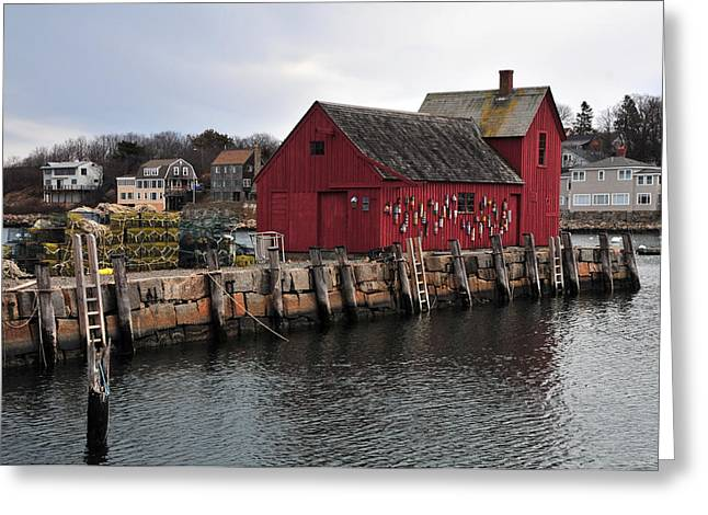 Motif # 1 Greeting Card by Mike Martin