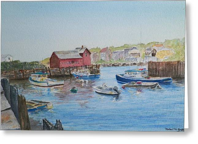 Motif 1 Greeting Card by Michael McGrath