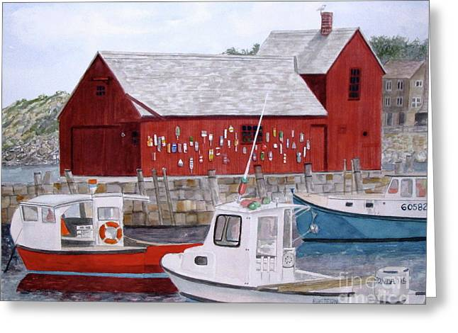 Motif No 1 Greeting Card