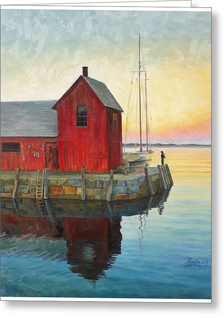 Motif Number One -appointment With God Greeting Card by Gregory Doroshenko