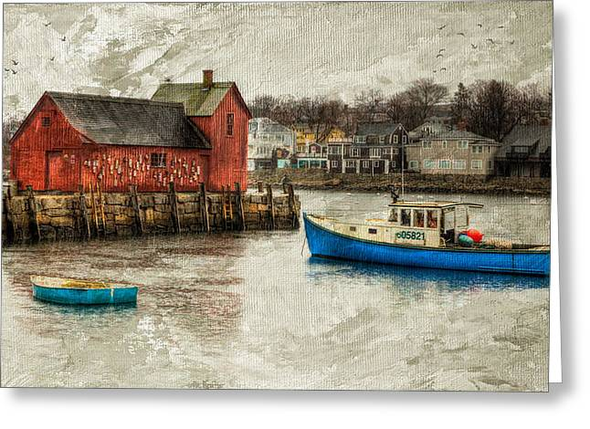 Motif Number1 Rockport Greeting Card