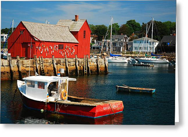 Motiff 1 In Rockport Greeting Card