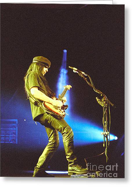 Motley Crue-mick-28 Greeting Card by Timothy Bischoff