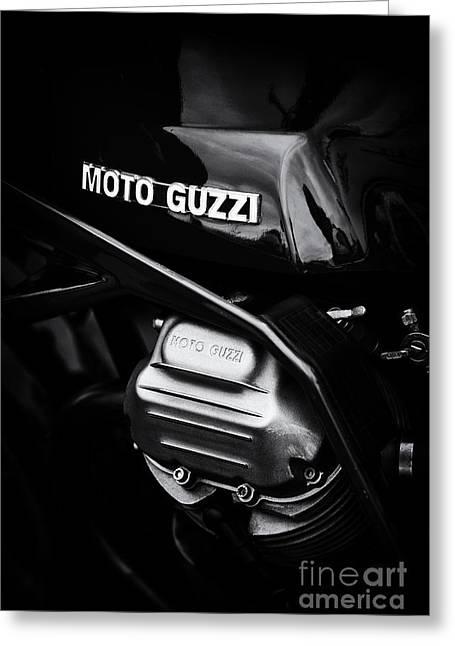 Moto Guzzi 850 Le Mans Monochrome Greeting Card