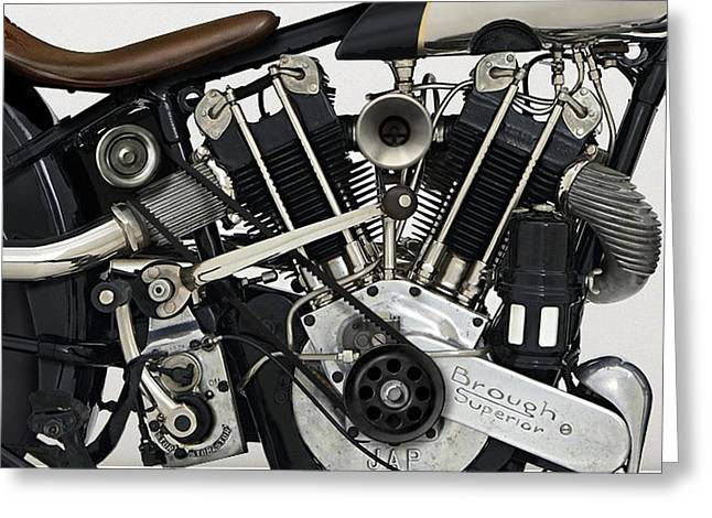 Motorcycle  Greeting Card by Marvin Blaine