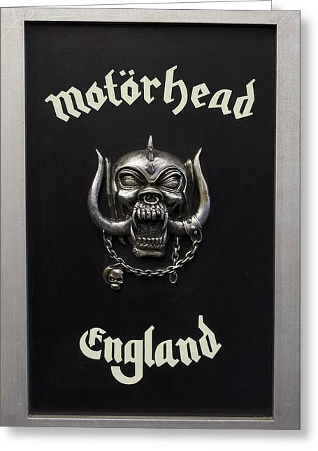 Motorhead England Greeting Card