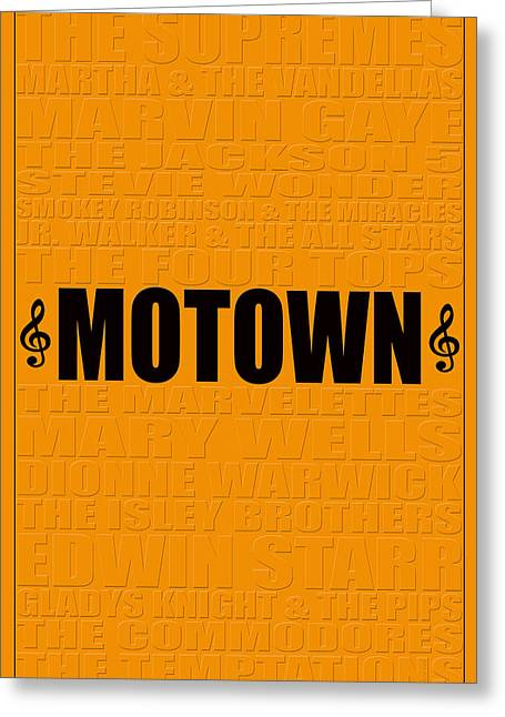 Motown Greeting Card