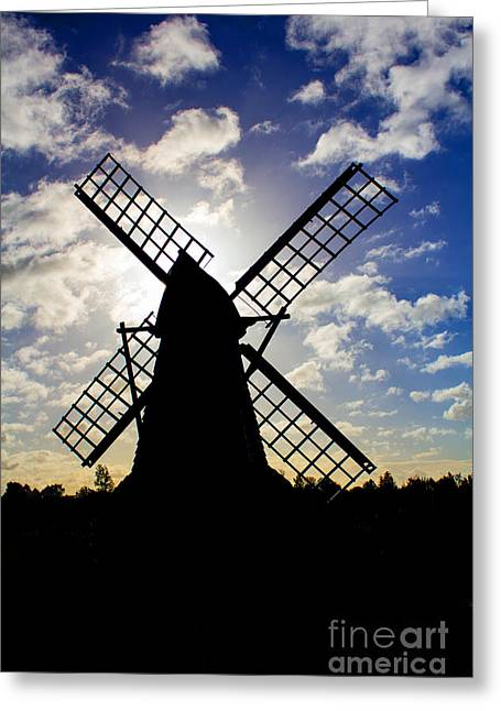 Moulin Noir Greeting Card