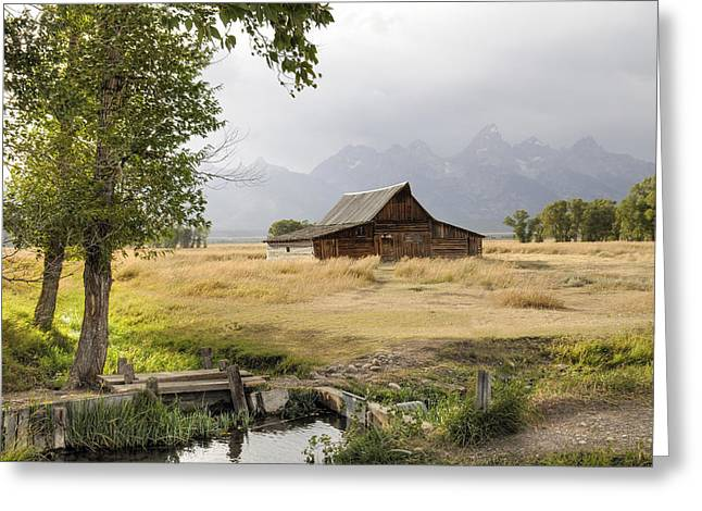 Moulton Barn At Mormon Row Greeting Card