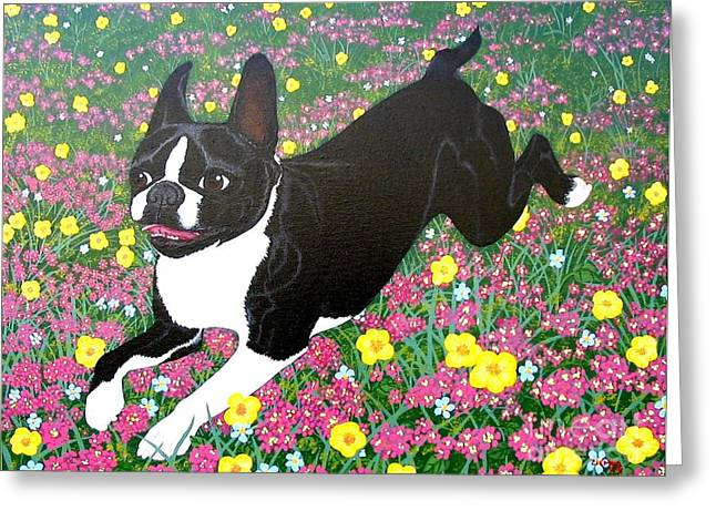 Moulty In The Meadow Greeting Card