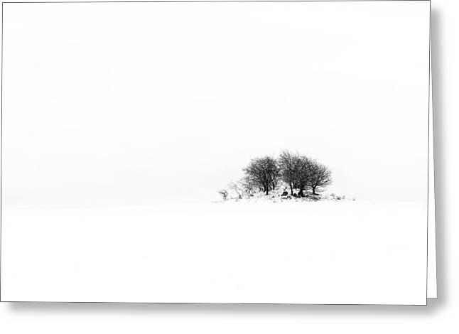 Mound Greeting Card by Gert Lavsen