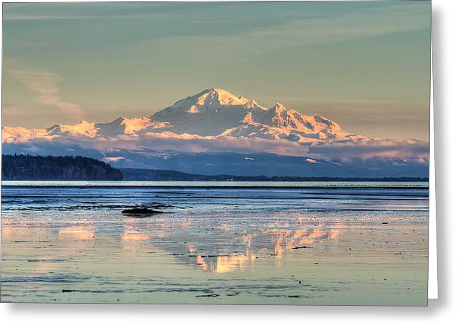 Mount Baker North Cascades National Park Greeting Card