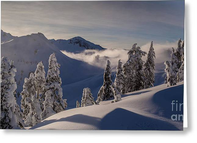 Mount Baker Snowscape Greeting Card