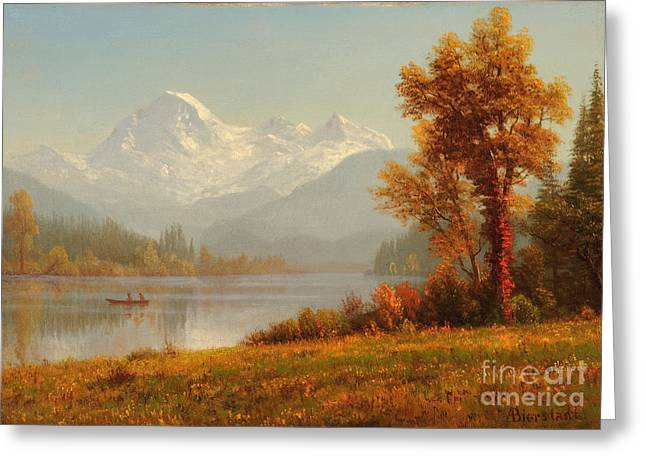 Mount Baker Washington Greeting Card by Celestial Images