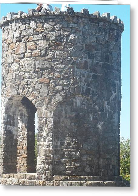 Mount Battie Stone Tower II Greeting Card