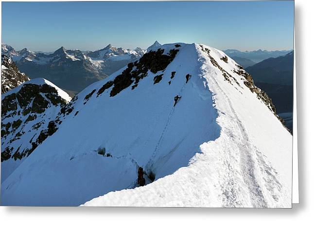 Mount Castor Greeting Card by Martin Rietze