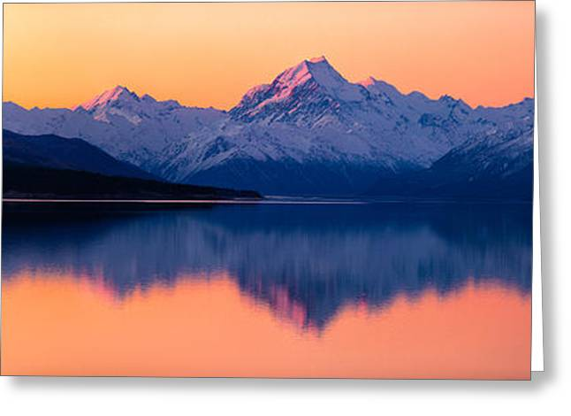 Mount Cook, New Zealand Greeting Card by Daniel Murphy