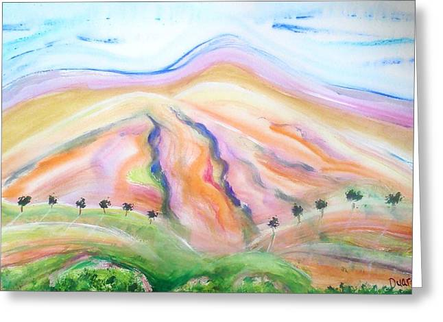 Mount Diablo Greeting Card