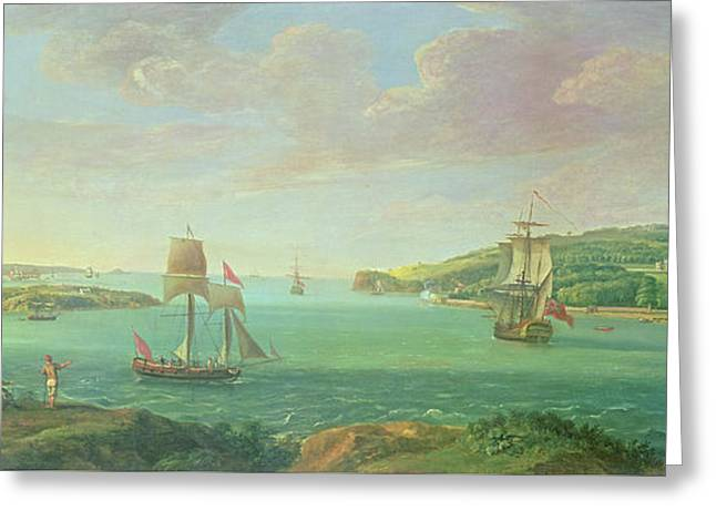 Mount Edgcumbe Greeting Card by Banfield