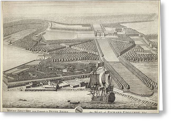 Mount Edgcumbe Greeting Card by British Library