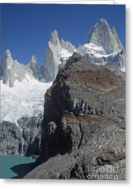Mount Fitzroy Patagonia Greeting Card by Rudi Prott