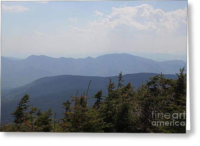 Mount Hancock Summit View Greeting Card