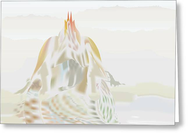 Mount Helm Greeting Card by Kevin McLaughlin