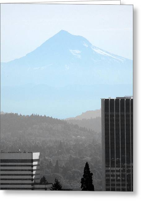 Mount Hood In Fall Greeting Card
