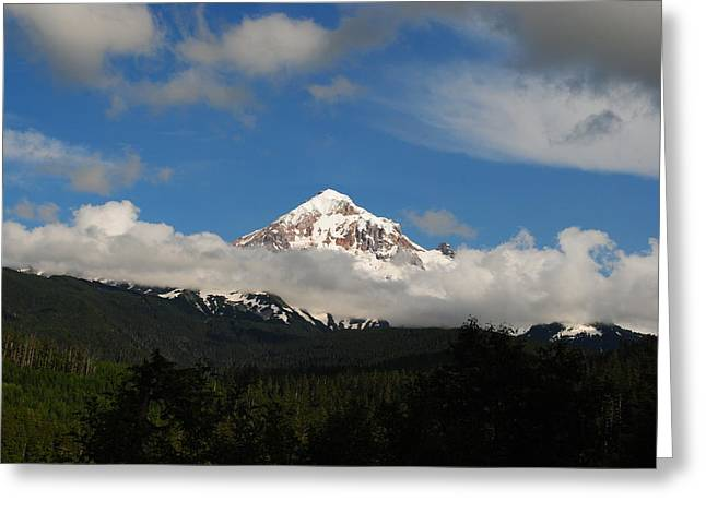 Greeting Card featuring the photograph Mount Hood Oregon by Robert  Moss