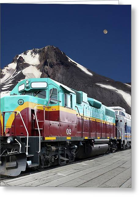 Mount Hood Railroad Greeting Card