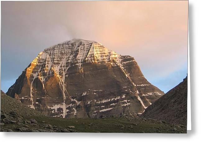 Mount Kailash Greeting Card